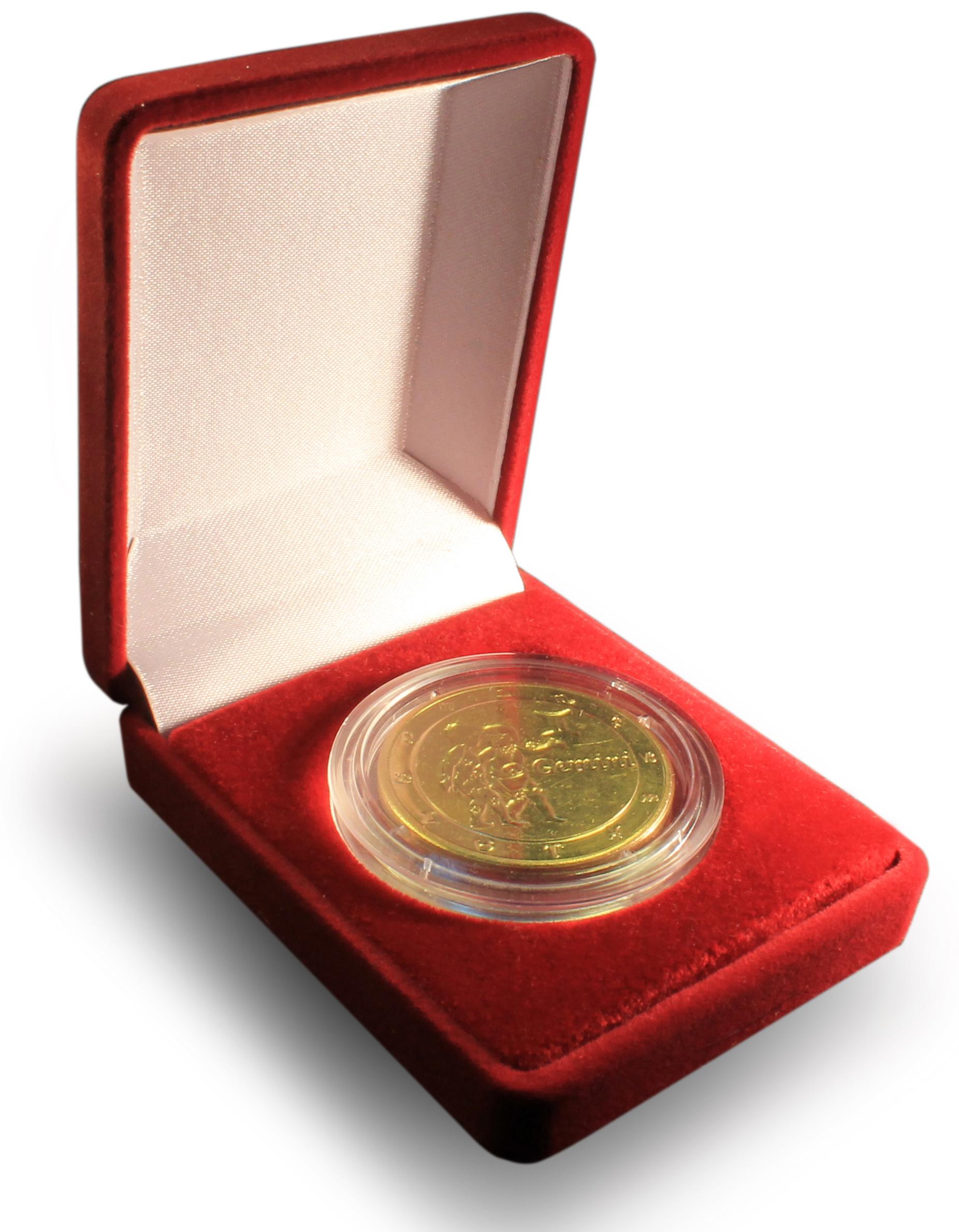 Как упаковать монеты в подарок 10